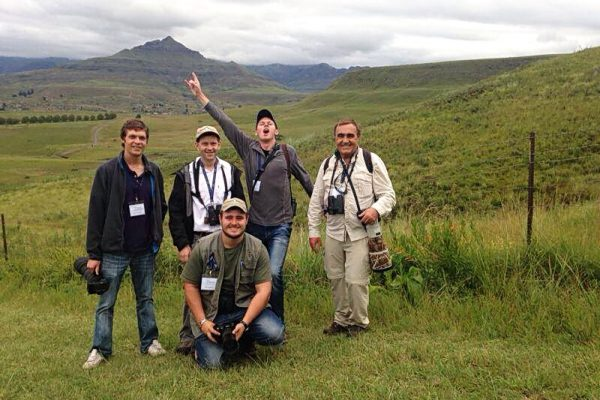 Some of the staff in the Drakensberg