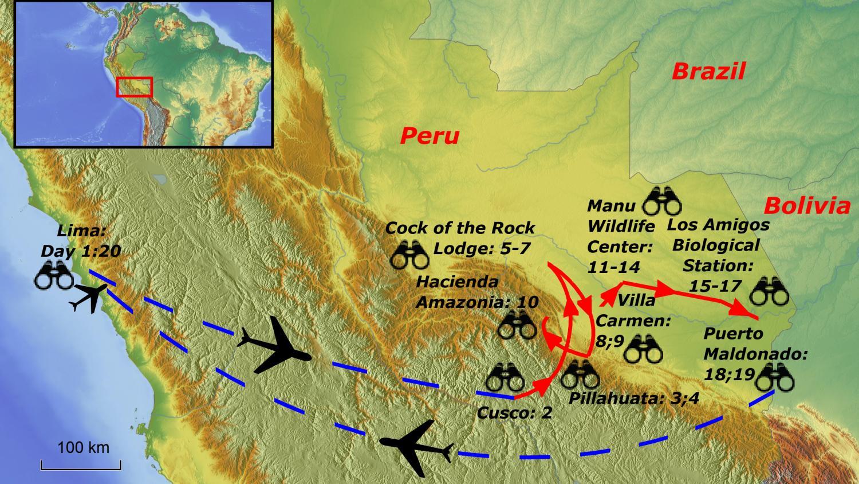 Perua and Manu Road, Lowlands